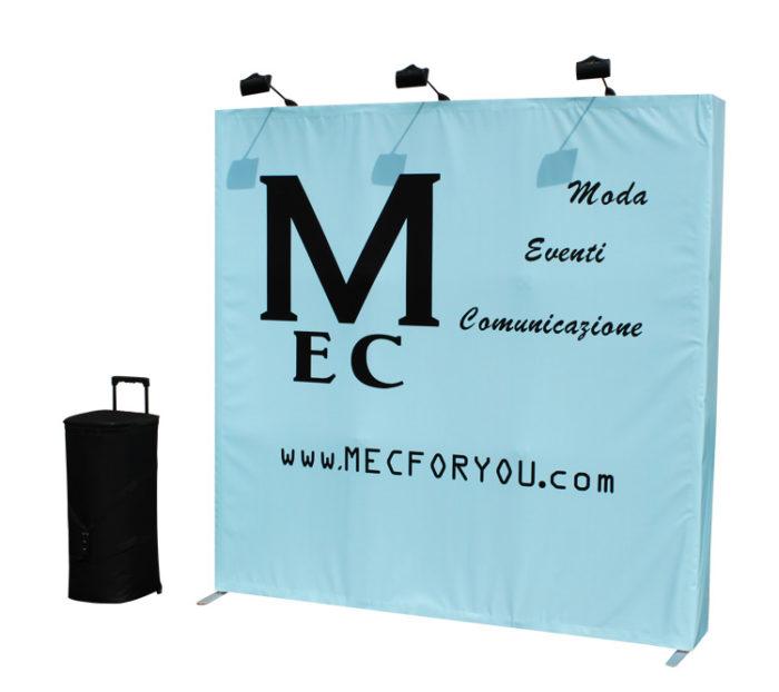 Pop up velcro 3x3 dritto - MEC