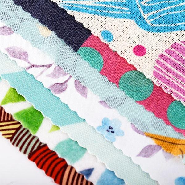 stampa sublimatica di tessuti a colori