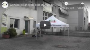 Video tutorial di montaggio del gazebo 3x3 con stampa full print