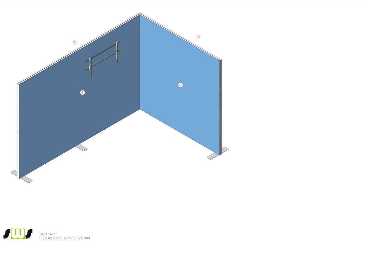 Stand 3x2 COLGATE - preventivo