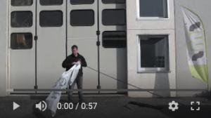 Video tutorial montaggio bandiera rettangolare personalizzata