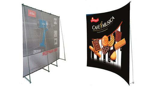 Wave banner stand - Wall pubblicitari