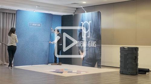 Guarda il video del montaggio stand modulare LINK